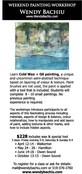 1up cold wax workshops