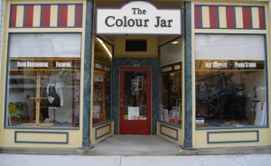 The Colour Jar, 120 Garafraxa North, Durham, Ontario.